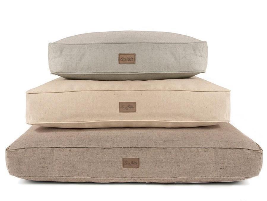 Cozy Tweed Rectangular Bed