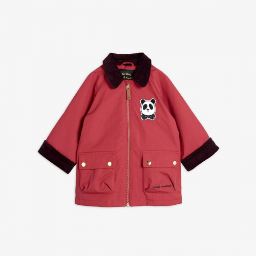 Pretty Padded Country Jacket in Red