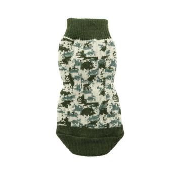 Nice Non-Skid Dog Socks in Camo