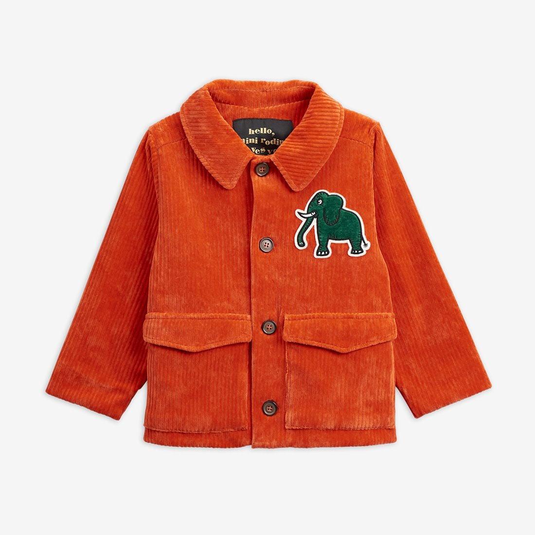 Excellent Elephants Corduroy Jacket