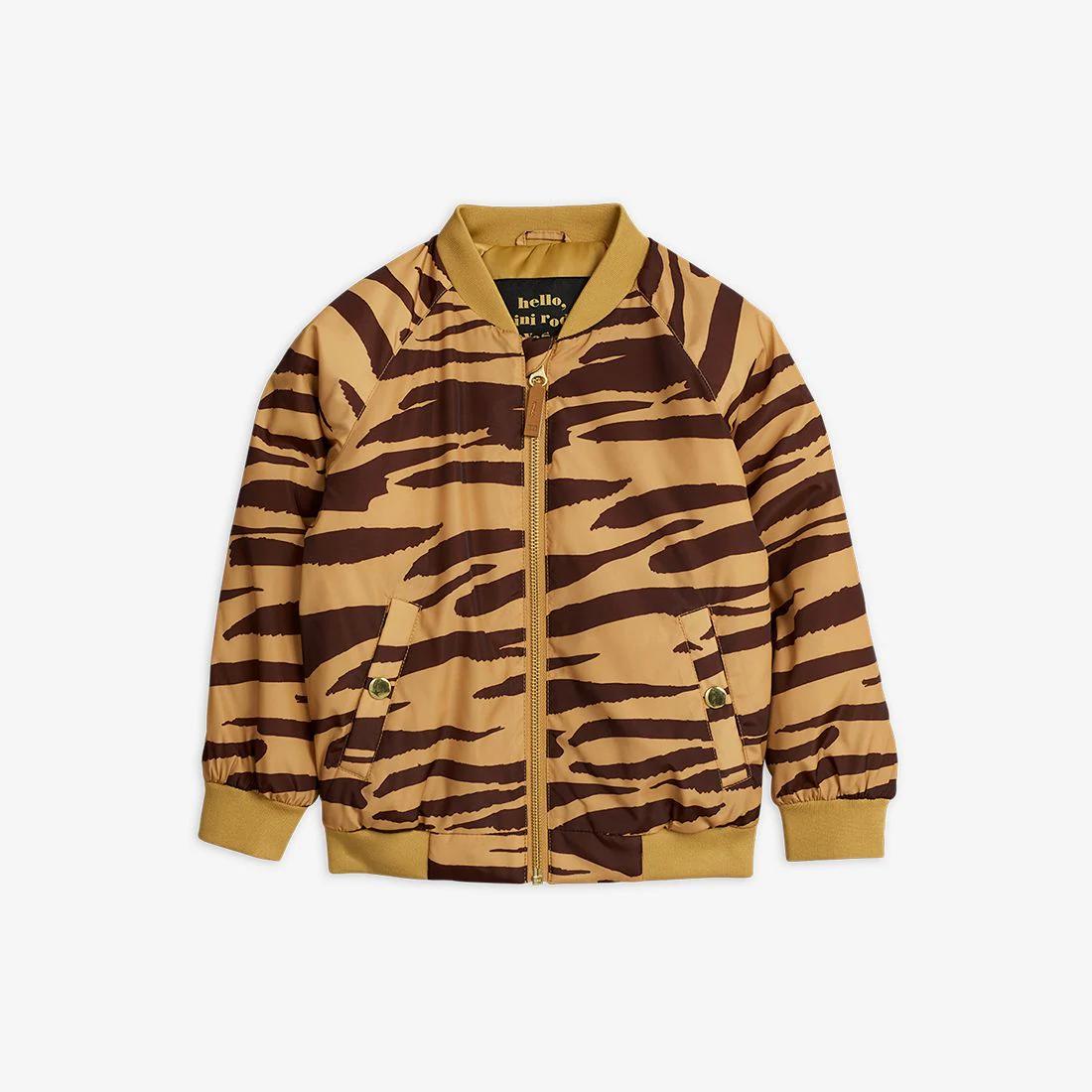 Delicate Tiger Baseball Jacket