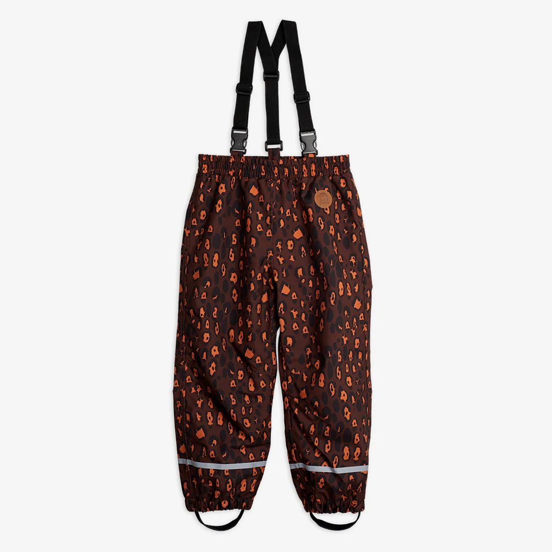 Pretty Leopard Shell Trousers
