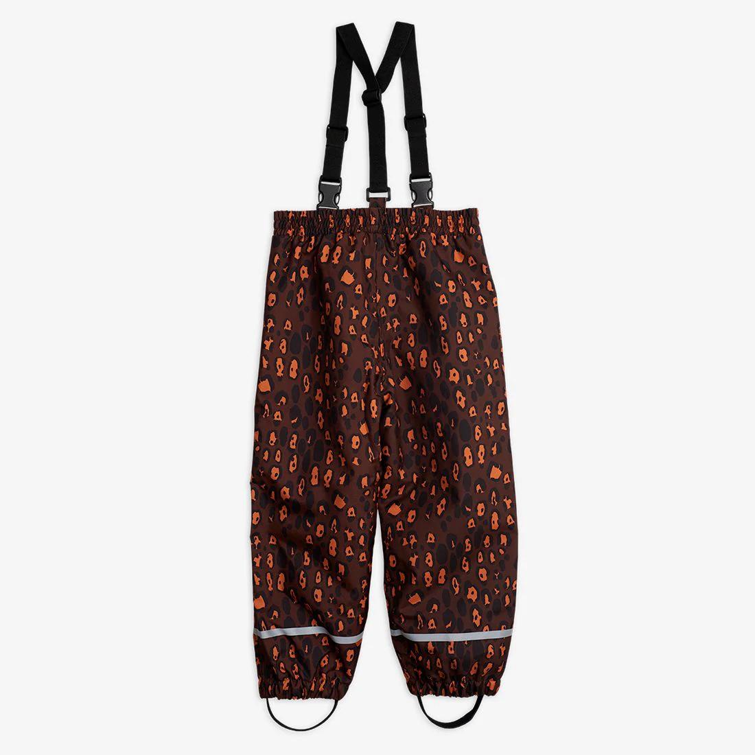 Pretty Leopard Shell Trousers