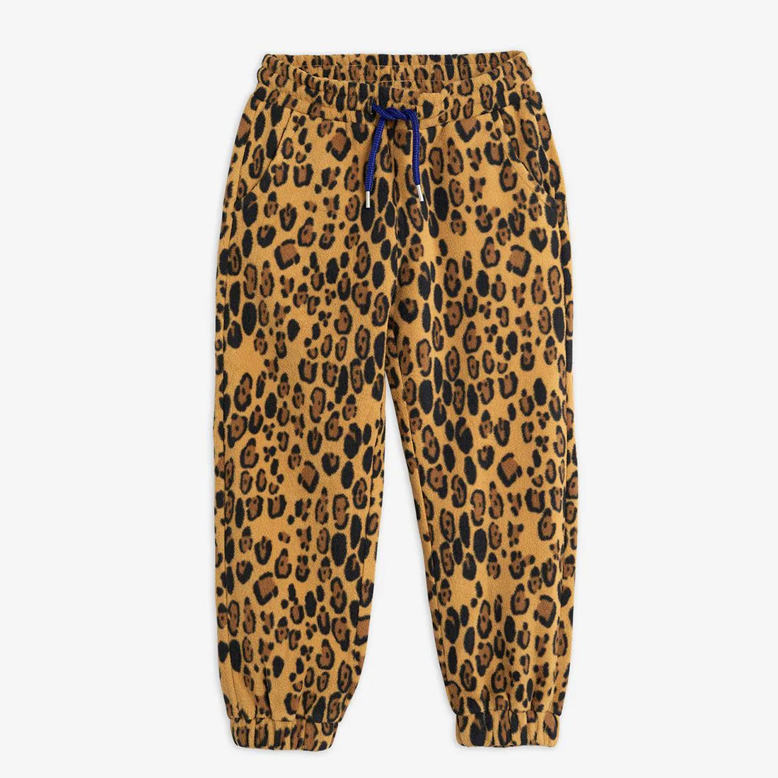 Adorable Leopard Kids Fleece Trousers