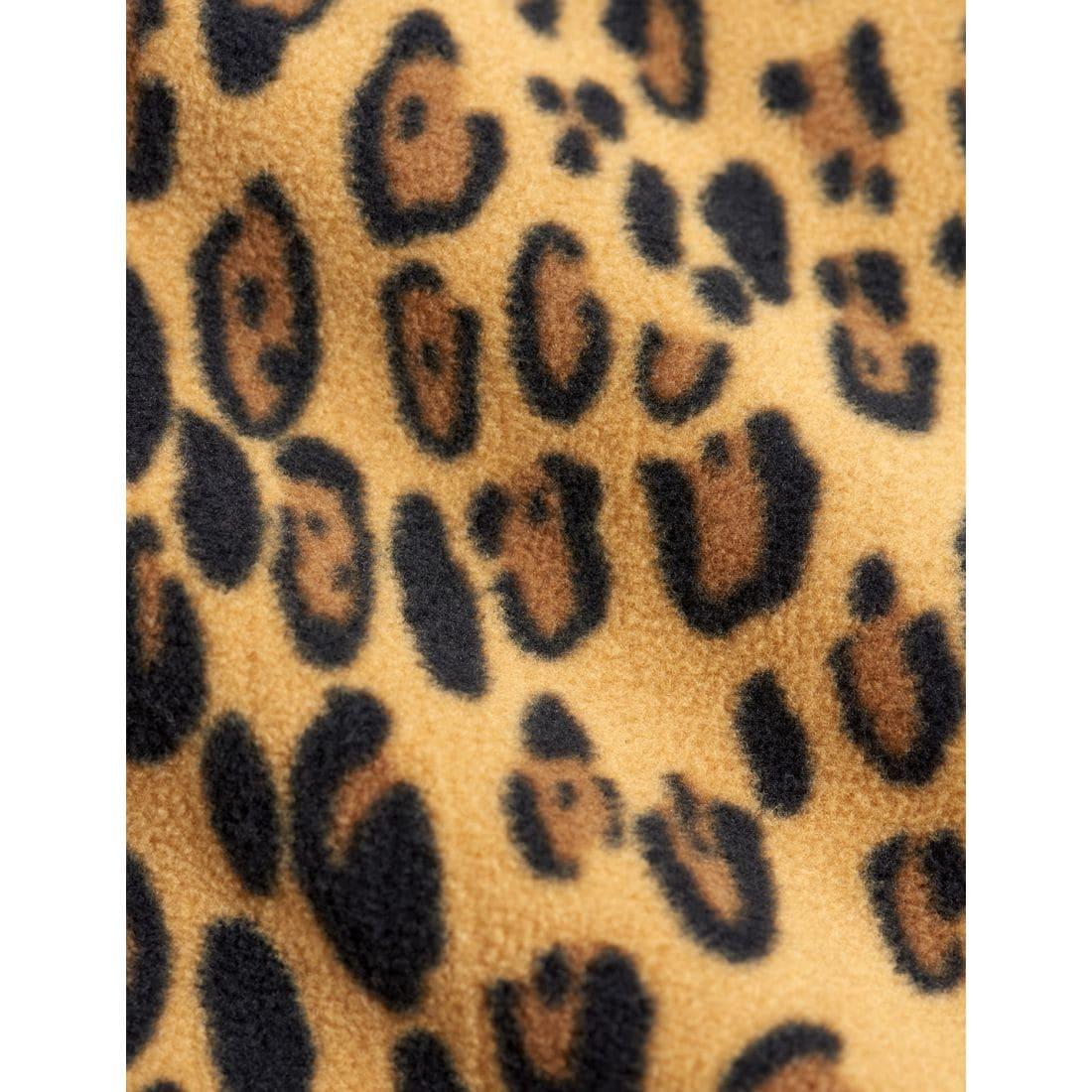 Adorable Leopard Kids Fleece Trousers
