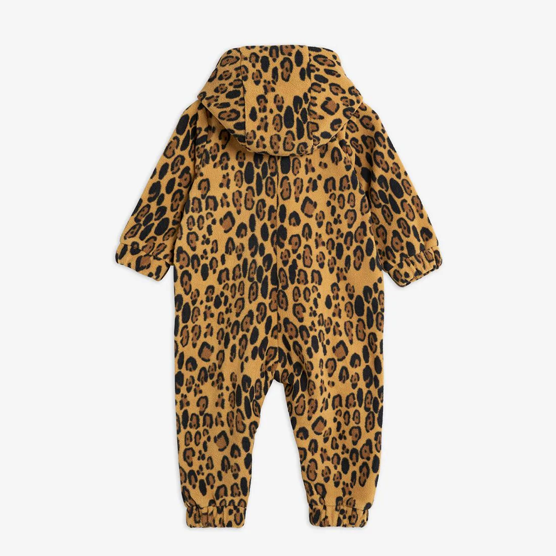 Nice Leopard Fleece Onesie