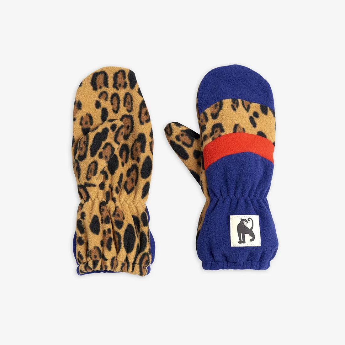 Ideal Stripe Fleece Mittens