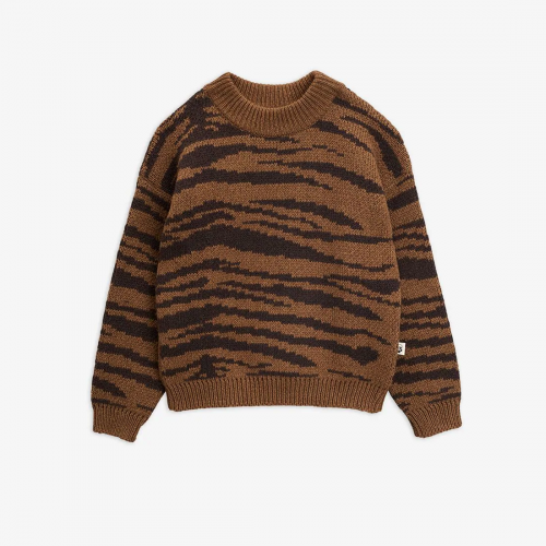 Lovely Tiger Knitted Sweater
