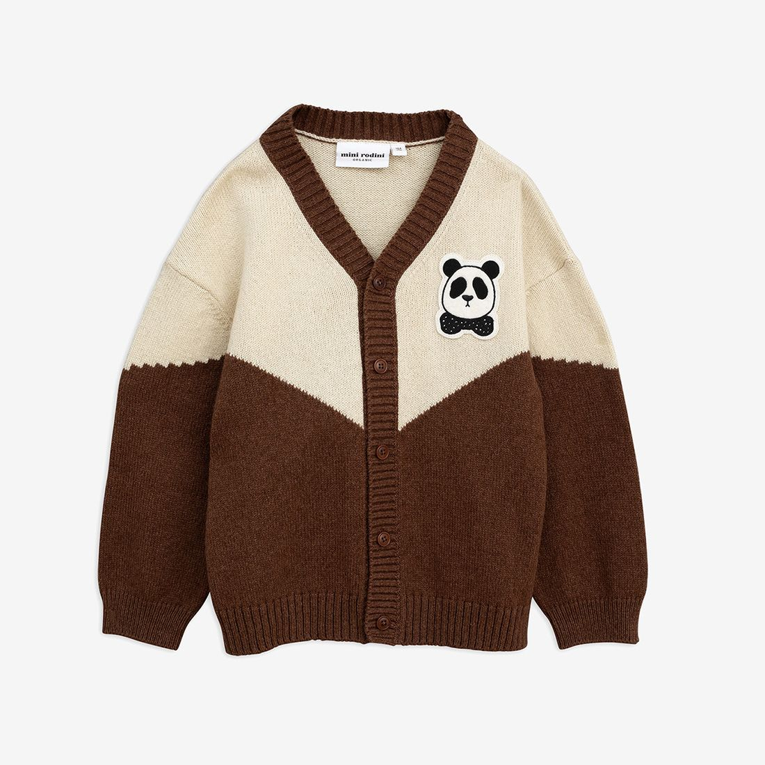 Pretty Panda Knitted Wool Cardigan