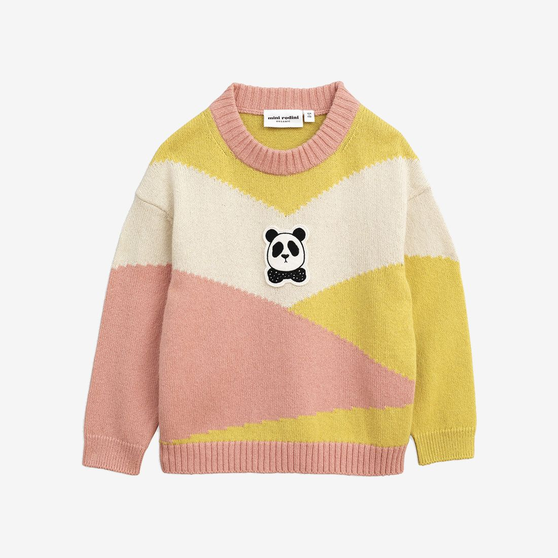 Cozy Panda Knitted Wool Sweater