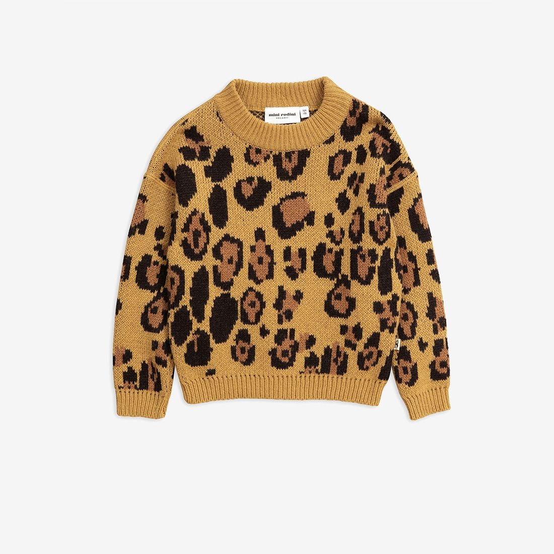 Adorable Leopard Wool Sweater