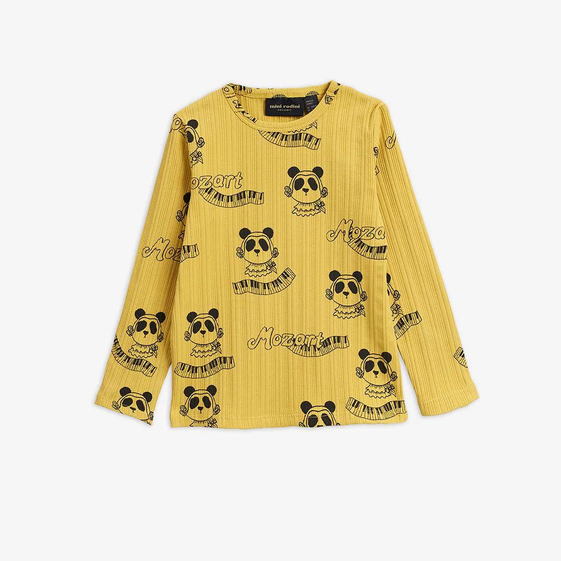 Yellow Long sleeve T-shirt