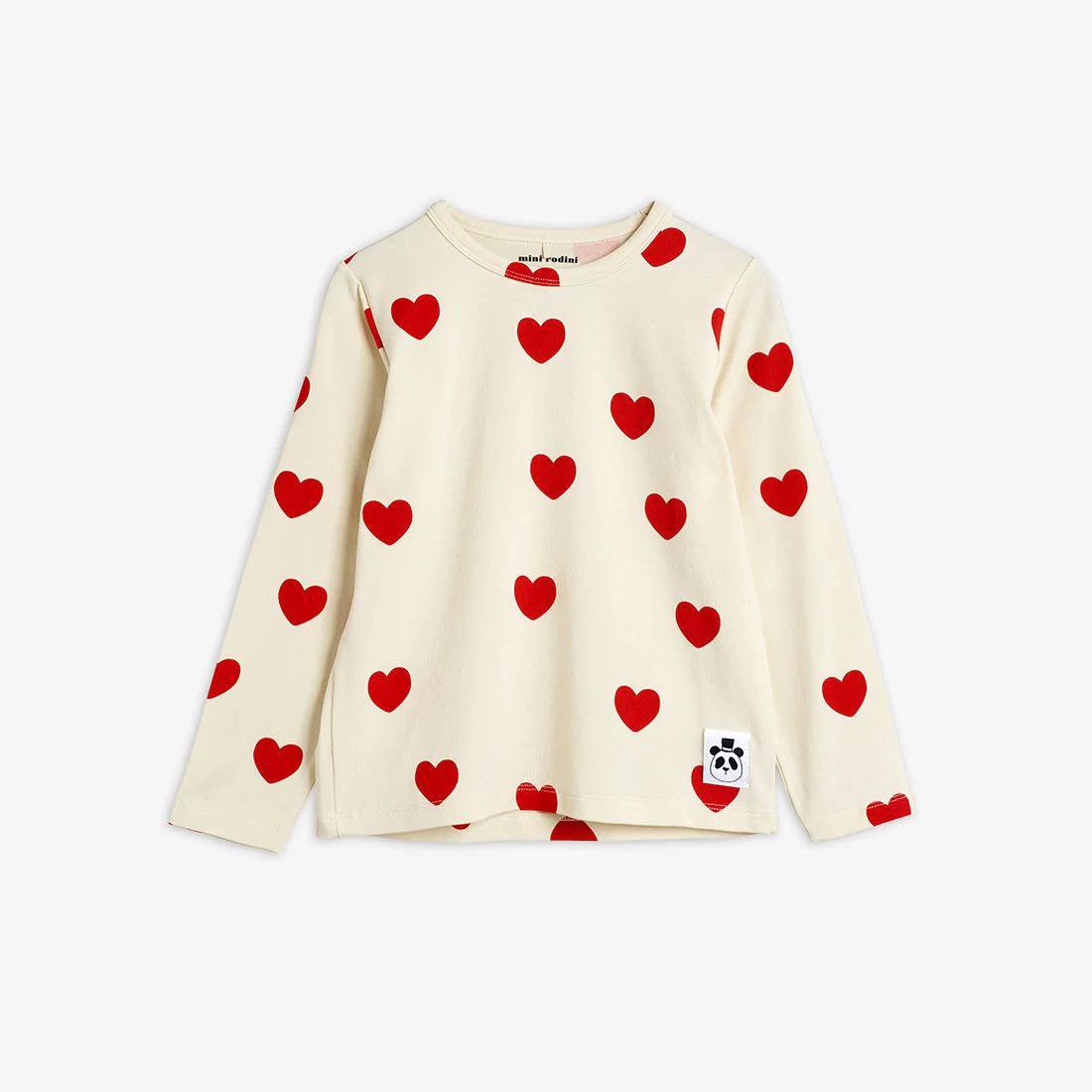Cute Hearts Long sleeve T-shirt