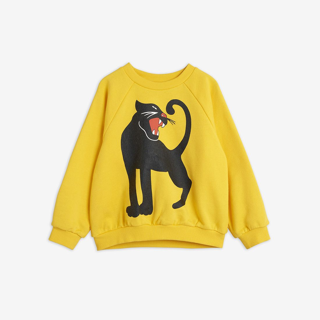 Yellow Panther Sweatshirt