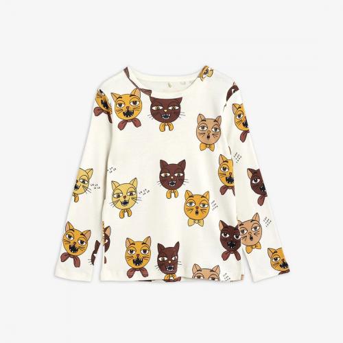 Fluffy Cat Choir Long sleeve T-shirt