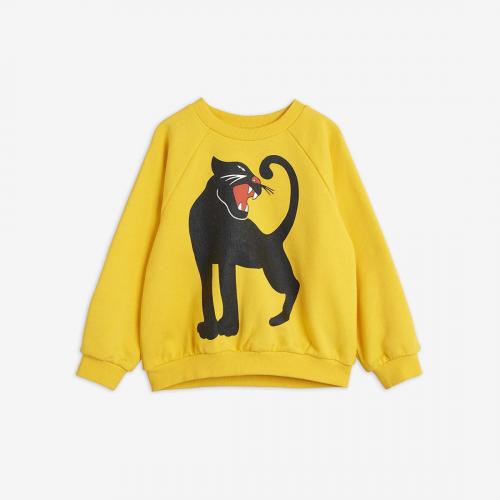 Yellow Panther Sweatshirt