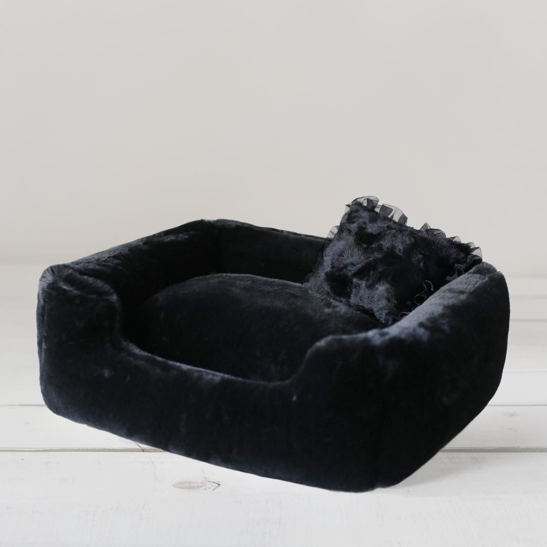 Divine Dog Bed in Black