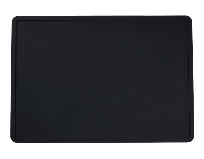 Beautiful Silicone Placemat in Black