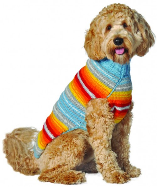 Comfy Serape Wool Sweater