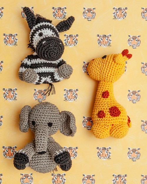 Cute Organic Knit Toy Bundle