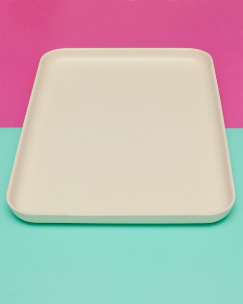 Cute Fresco Tray in White