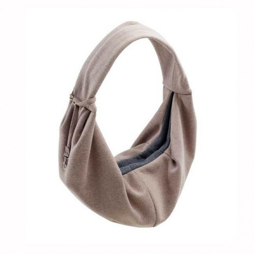 Dog Sling Bag in Taupe