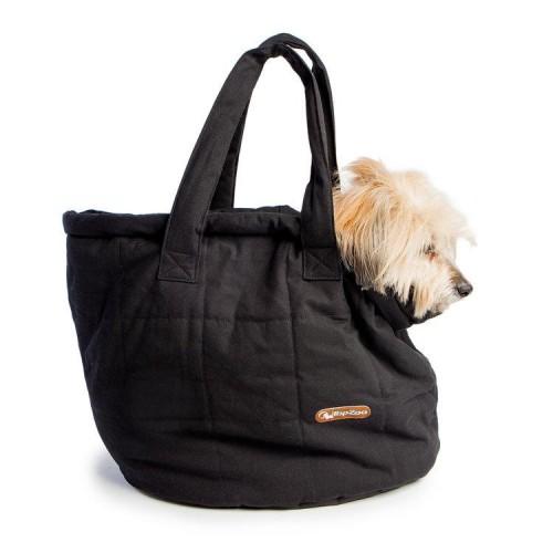 Oval Bed Bag in Black