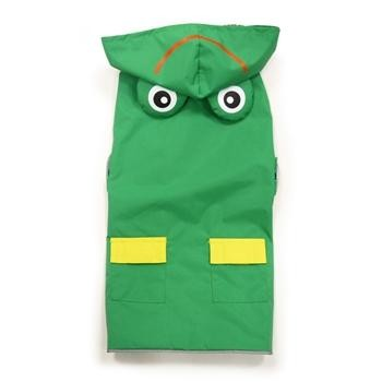 Frog Raincoat in Green