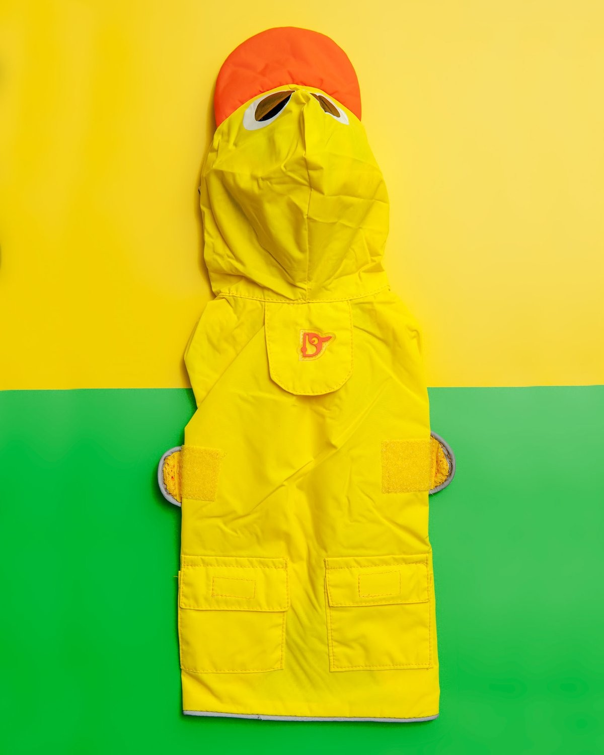 Duck Raincoat in Yellow