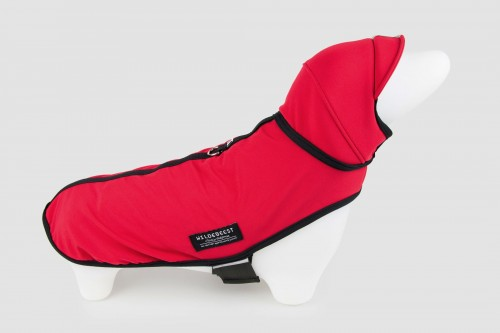 Cute Dog Jacket in Red