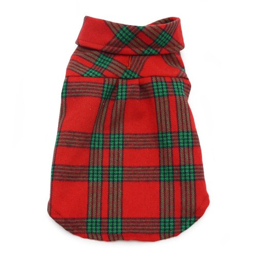 Red and Green Soft Flannel Shirt