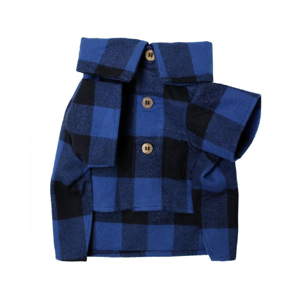 Cozy Flannel Dog Shirt