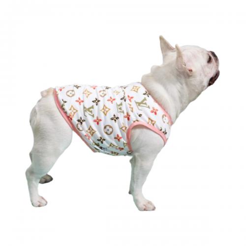 Comfortable Monogram Dog Tank