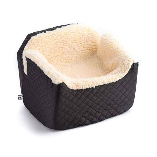 Sherpa Lined Dog Car Seat