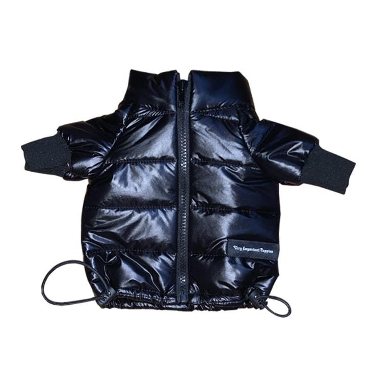 Modern Black Puffer Jacket