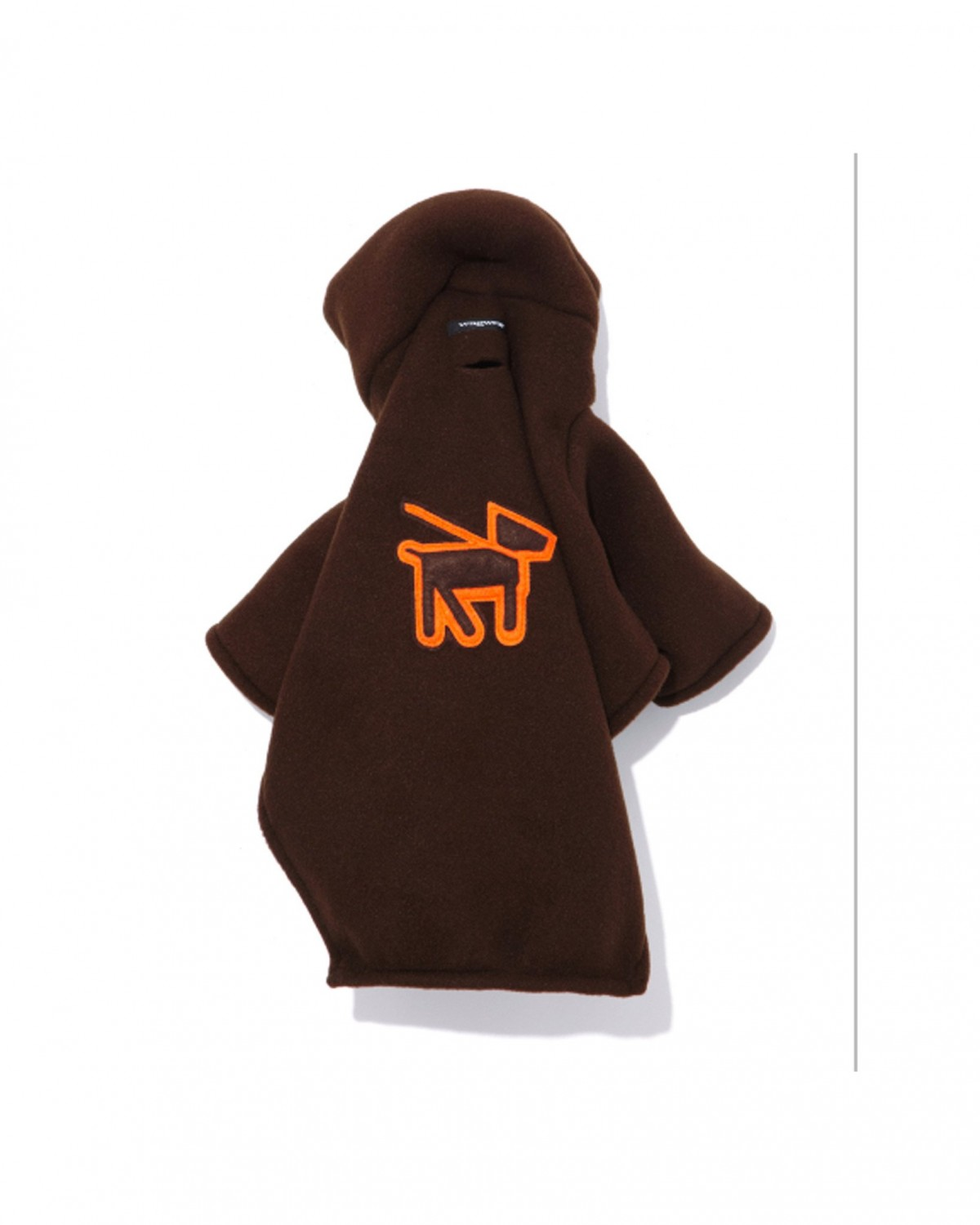 Fleece Turtle Neck in Brown