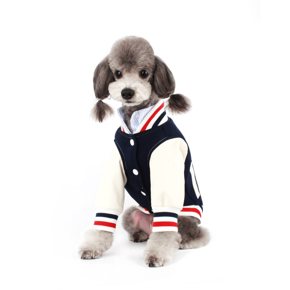 Stylish Navy Dog Jumper