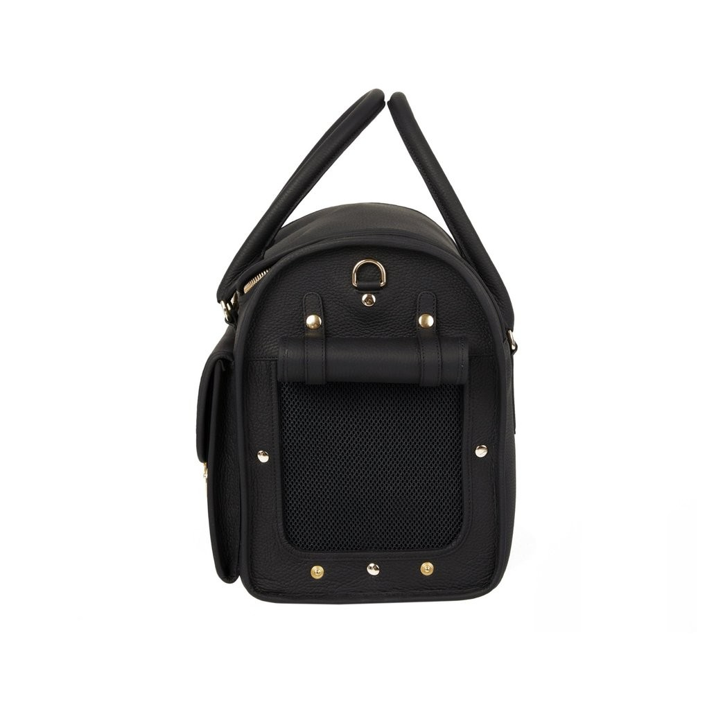Exclusive Dog Travel Bag in Black