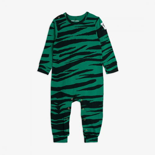 Basic Tiger Jumpsuit in Green