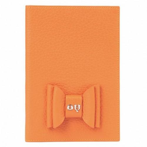 Stylish Pet Passport in Orange