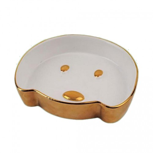 Compact Woof Dog Bowl