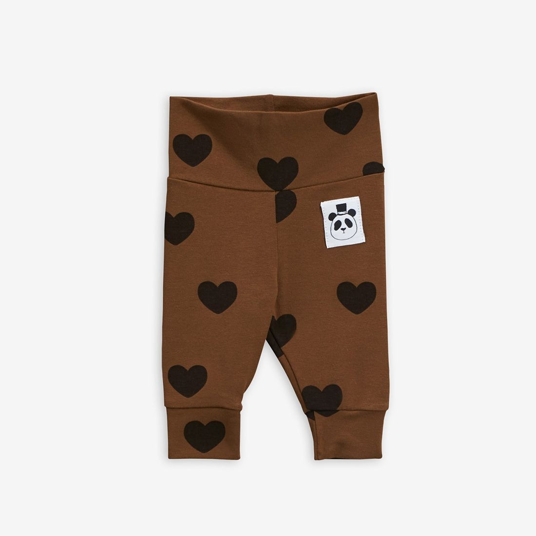 Basic Hearts Newborn Leggings