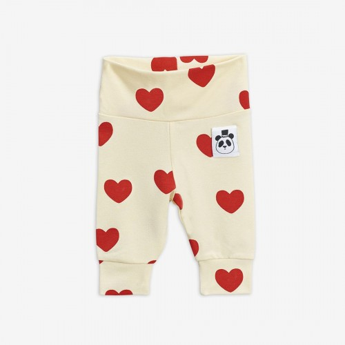 Cute Hearts Newborn Leggings