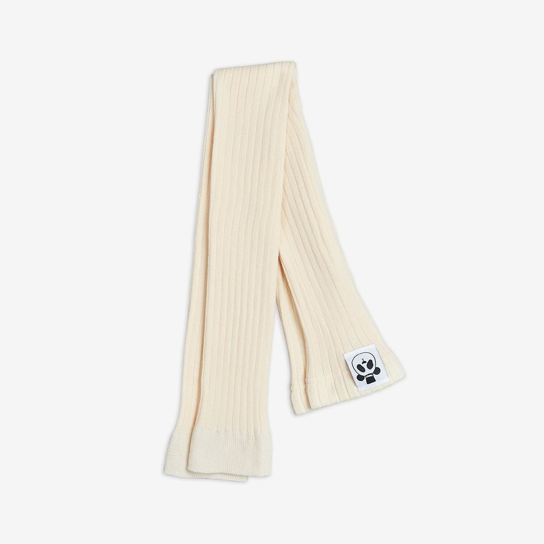 Off White Rib Leggings