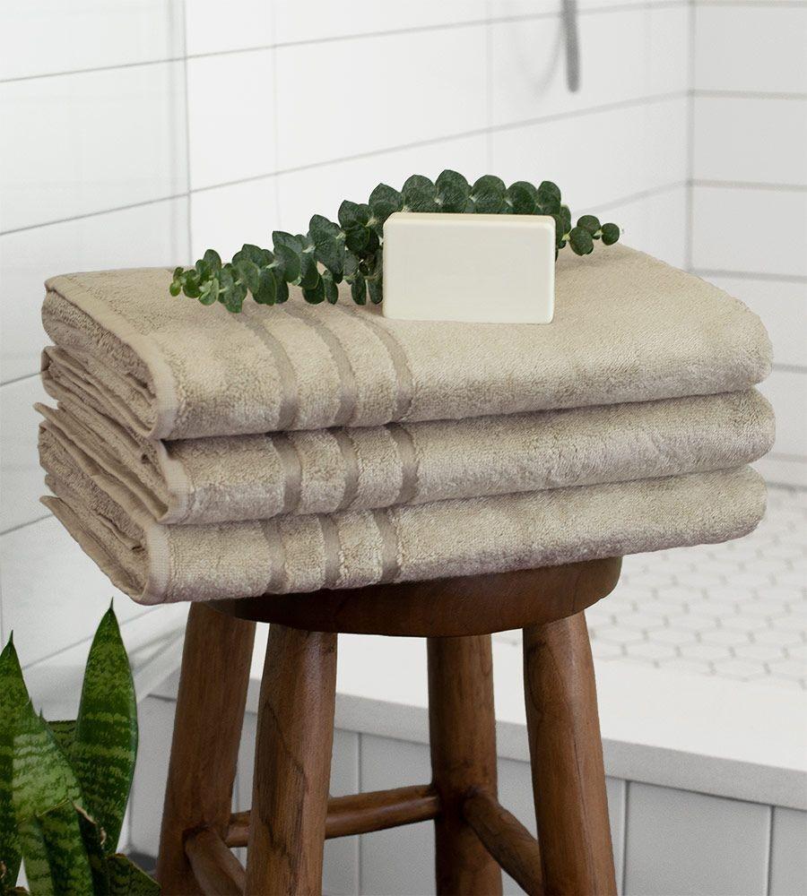 Eco-Friendly Bamboo Bath Towel
