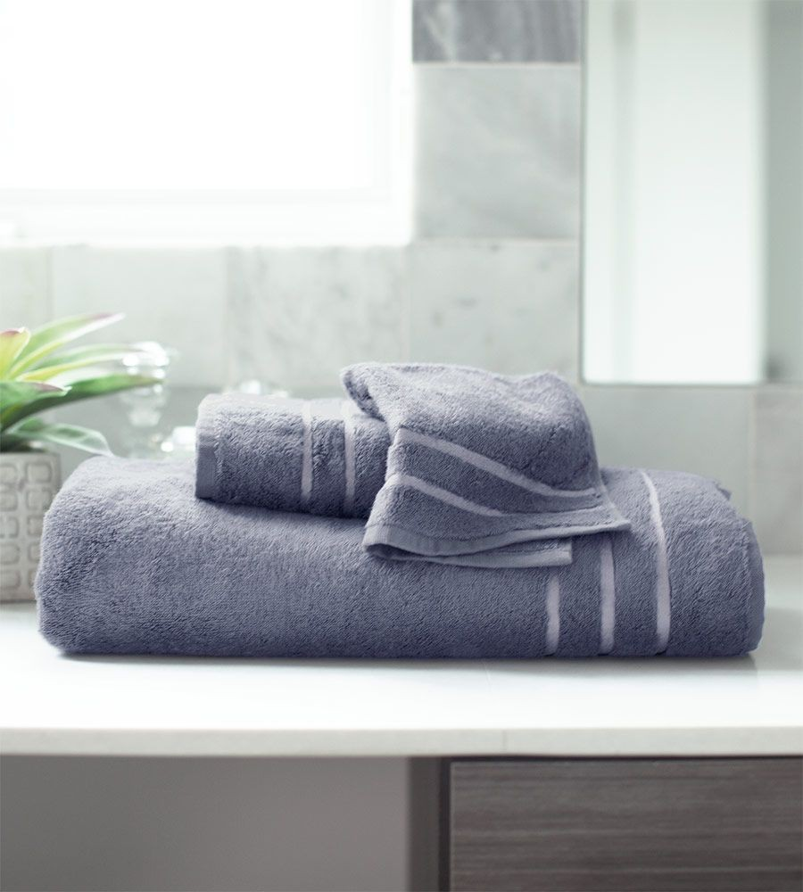 Blue Lagoon Bamboo Bath Towel Set
