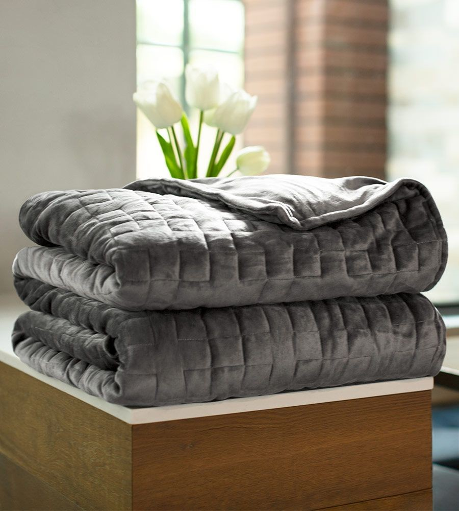 Comfy Weighted Bamboo Blanket