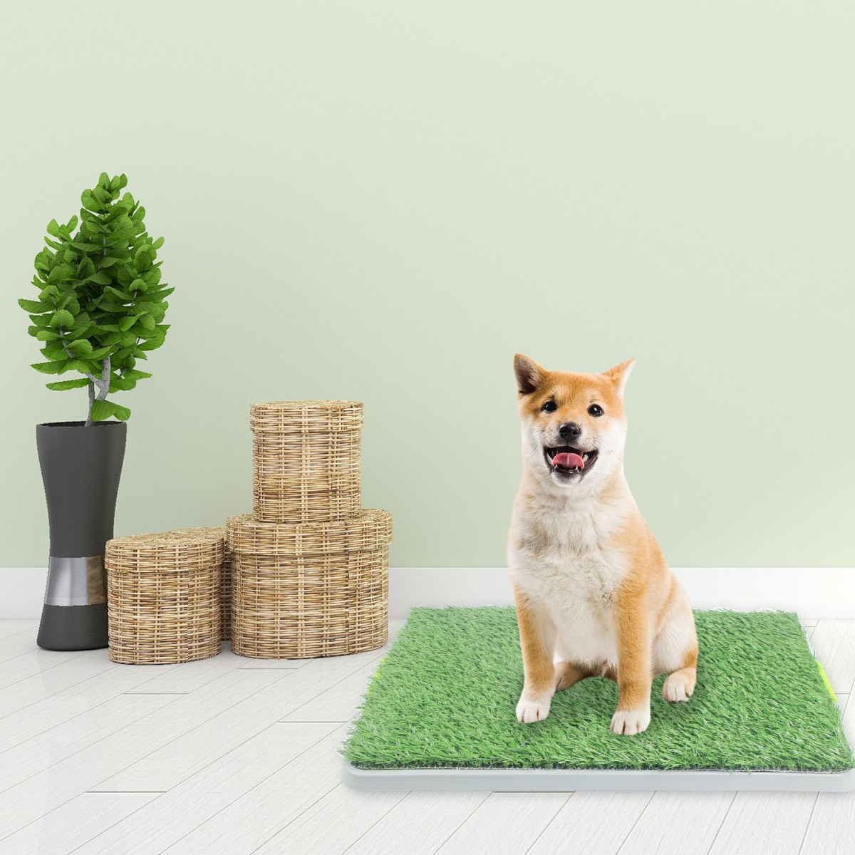 Artificial Dog Potty Grass for Indoor and Outdoor Use