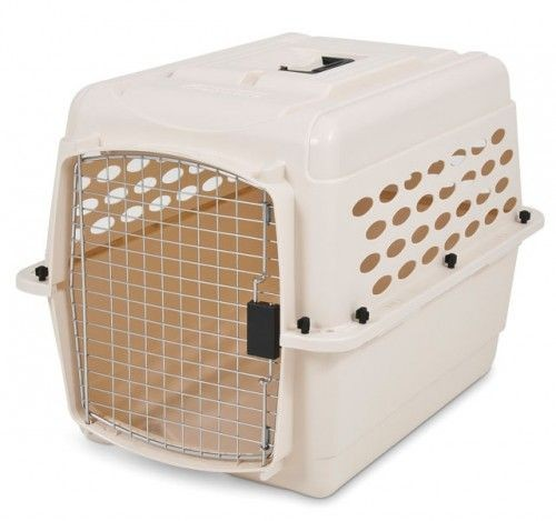 Medium Beige Airline Pet Carrier