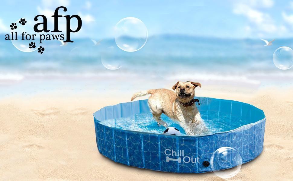 Large Outdoor Foldable Bathing Dog Pool